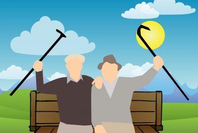 Minimálne dôchodky vnovom šate
